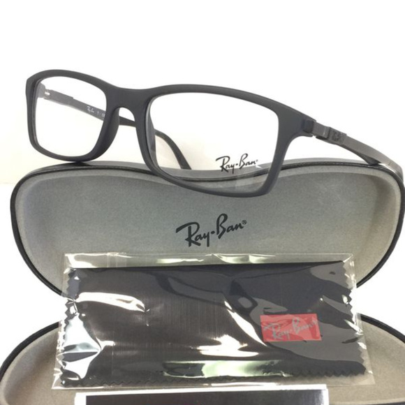 75c2f4c8b07e9 Ray-Ban RB 7017 5196 Matte black Eyeglasses